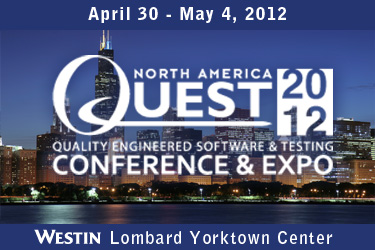 QUEST 2012 Software Testing Conference and EXPO in Chicago
